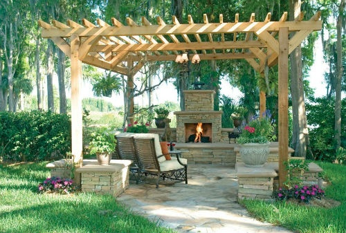 Accessorize your Outdoor Space | Decorating Den InteriorsPhotos, Ponds, Dennings Interiors, Sliders, Outdoor Living Spaces, Outdoor Room, Patios Ideas, Outdoor Spaces, Decor Dennings