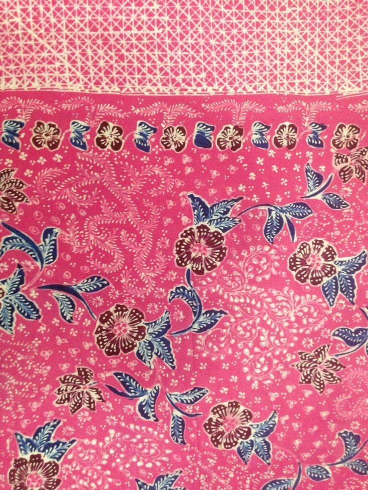 fresh pinky  batik tulis lasem