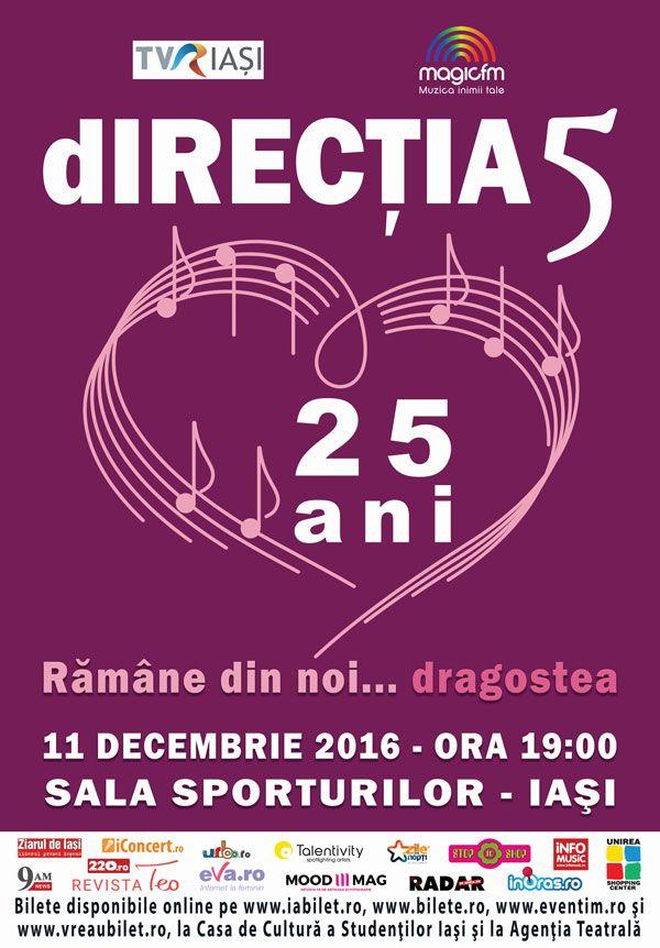 "Directia 5 lanseaza ""Love, Peace and Harmony"" si concerteaza la Iasi!"