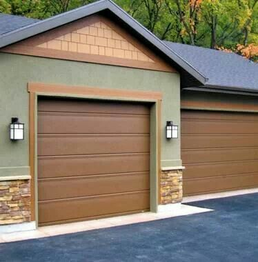 12 Best Images About Painted And Stained Garages