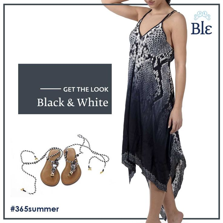 Black and white is always in! And Ble's collection of #dresses certainly knows so. Innocent white combined with seductive black, make unique pieces ready to live through dreamy days and nights!  Get the look here www.ble-shop.com
