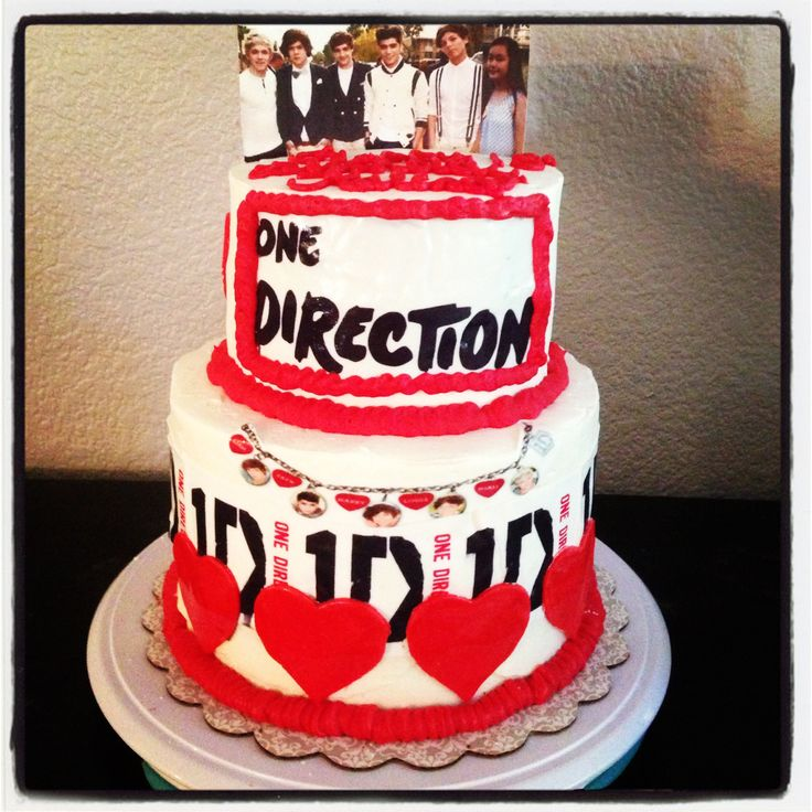 One Direction Cake Ideas