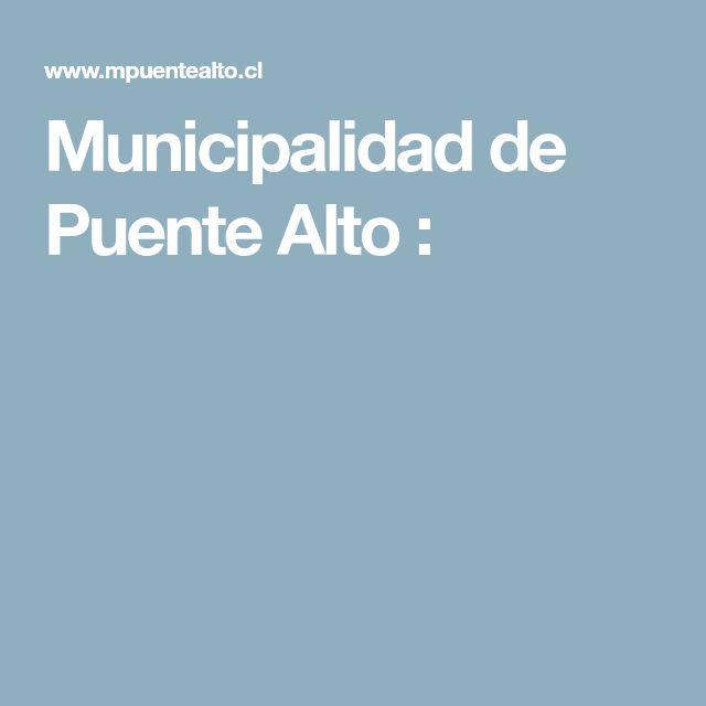 Municipalidad de Puente Alto :