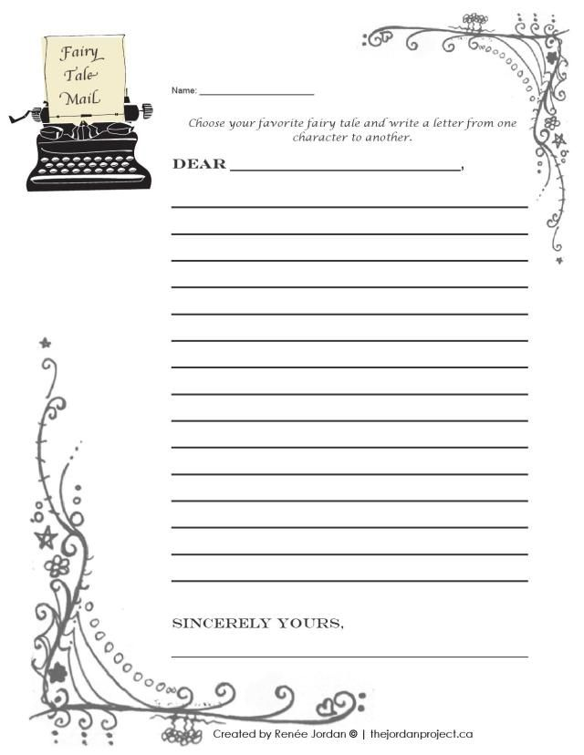Fairy Tale Mail Students Take On A Point Of View Character To Write Letter Another Teaches And Reading In The Upper Grades