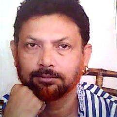 Indian poet Nilim Kumar, featured on PI in December 2013. Image © Nilim Kumar