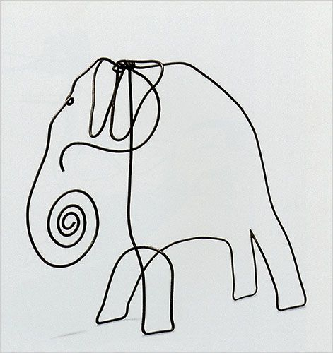 one line drawing, great for a baby's room