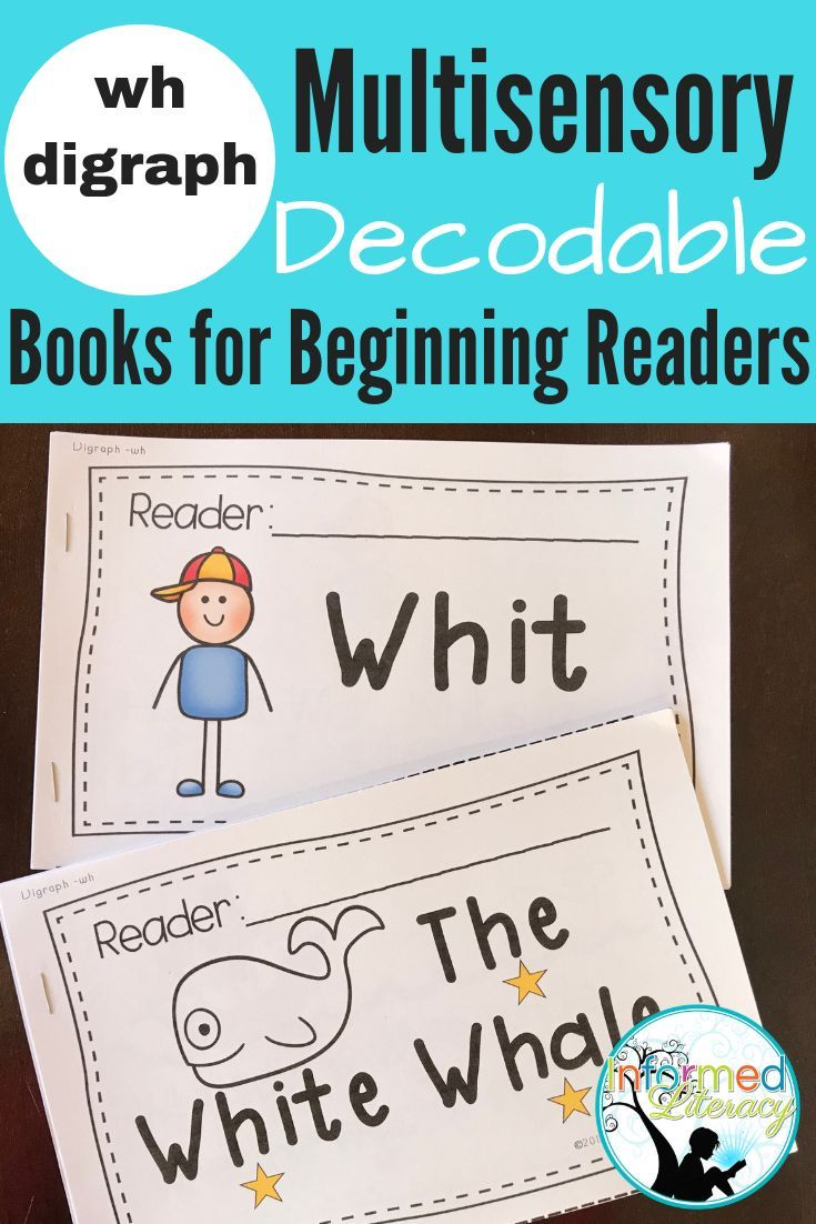 This set of decodable readers helps students apply their understanding of  the wh- digraph.