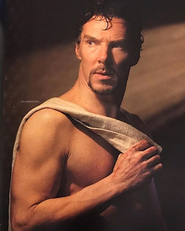just a question: is this what sherlock secretly looks like under his suits?