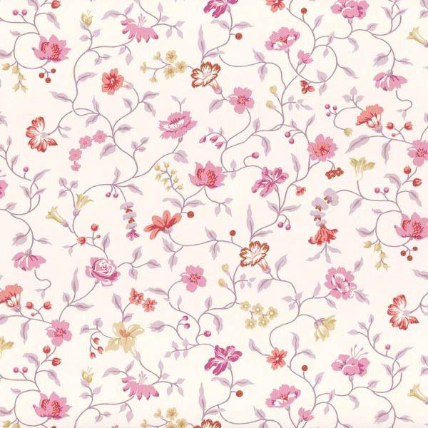 Landhaus Tapete Rasch Textil VINTAGE DIARY 255194 Blumen Blümchen Weiß Lila Rot | Heimwerker, Farben, Tapeten & Zubehör, Tapeten & Zubehör | eBay!