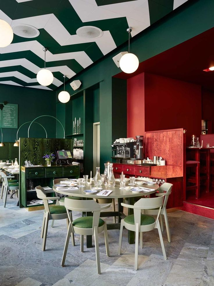 bar central stockholm by uglycute - Beaded Inset Restaurant Interior