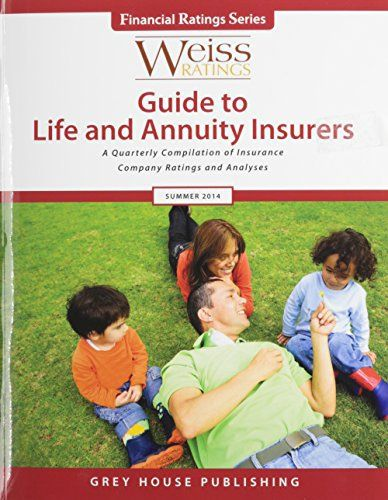 Weiss Ratings Guide to Life & Annuity Insurers provides independent, unbiased ratings on the financial strength of 1,000 life and annuity insurers, including companies providing life insurance, annuities, guaranteed investment contracts (GICs) and other p VideoPal Deluxe Monthly Upgrade... more details available at https://insurance-books.bestselleroutlets.com/casualty/product-review-for-weiss-ratings-guide-to-life-annuity-insurers-summer-2014-financial-ratings/