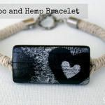 Bamboo and Hemp Bracelet Tutorial