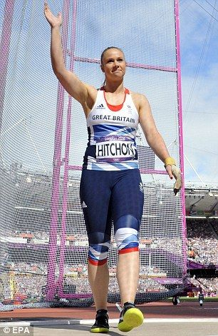 Olympics 2012: Former ballet dancer Sophie Hitchon leaps into hammer final | Daily Mail Online