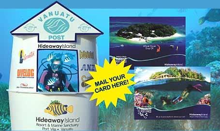 Underwater Post Office - Hideaway Resort - Vanuatu