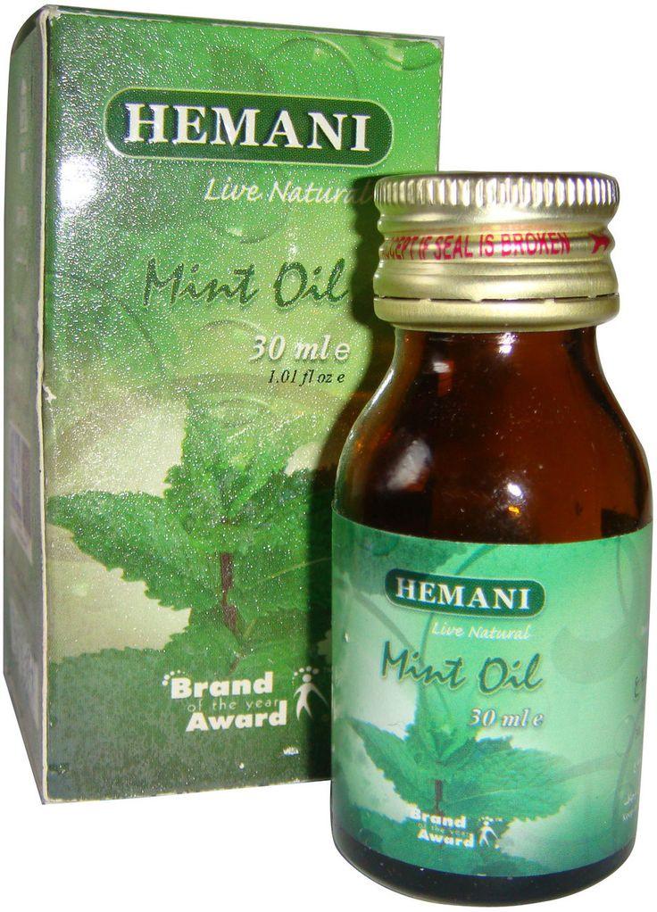 myHenna.US - Hemani Mint Oil 30 ML, $3.99 (https://www.myhenna.us/hemani-mint-oil-30-ml/)