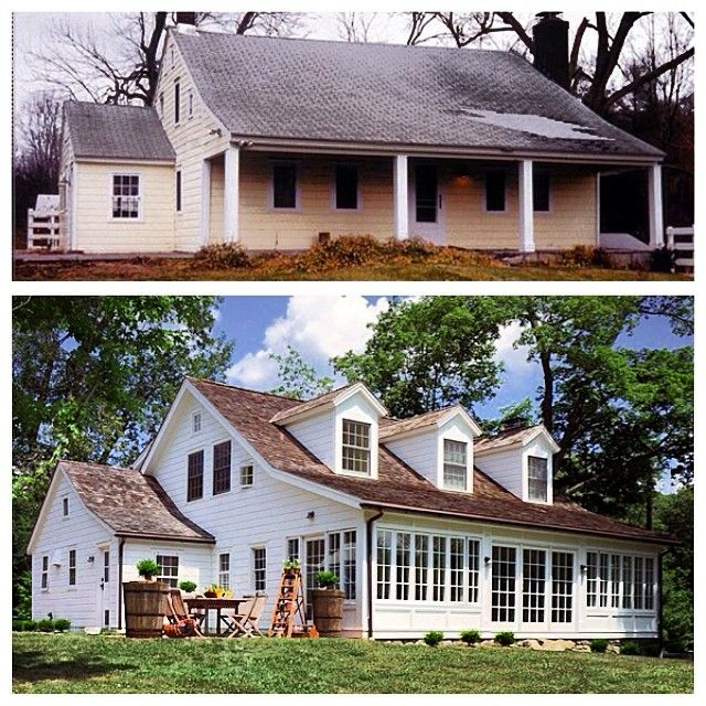 176 best ugly house makeovers images on pinterest for Renovate front of house