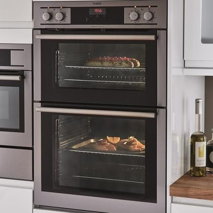 AEG double multi-function oven