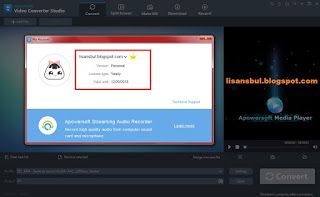 Apowersoft Video Converter Studio 4.7.0 (Yearly Subscription) ViP account   Video Converter Studio   Ultra-high Speed Video Converter  ...