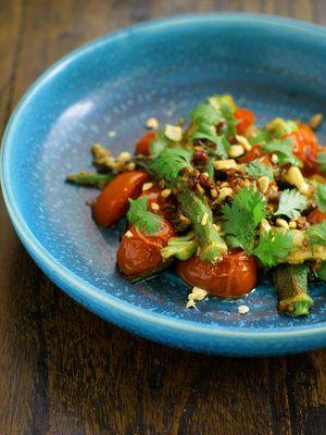 【ELLE a table】オクラとトマトのベトナム風ソテーレシピ|エル・オンライン