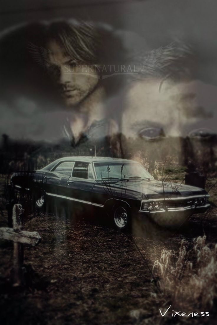 Supernatural Wallpaper Dean Quotes Supernatural 67 Chevy Impala Iphone Wallpaper By By