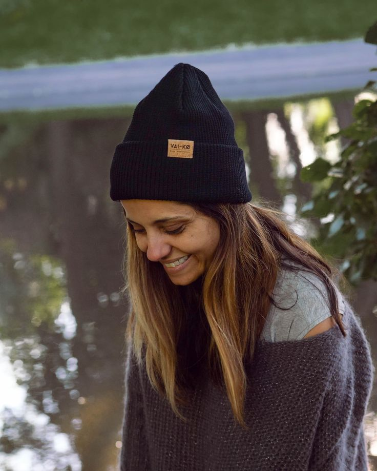 Fall Winter Spring Summer Outfit inspiration. Organic Merino Wool Beanie by VAI-KØ. Shop now!
