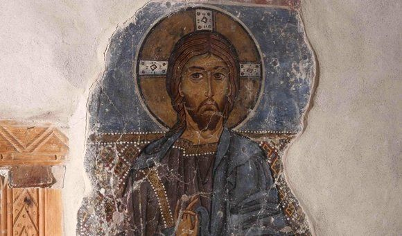 In 1100, Byzantine monks used asbestos to make the walls beneath their painting much, much shinier. Asbestos mines were not far away from where the art has been found.