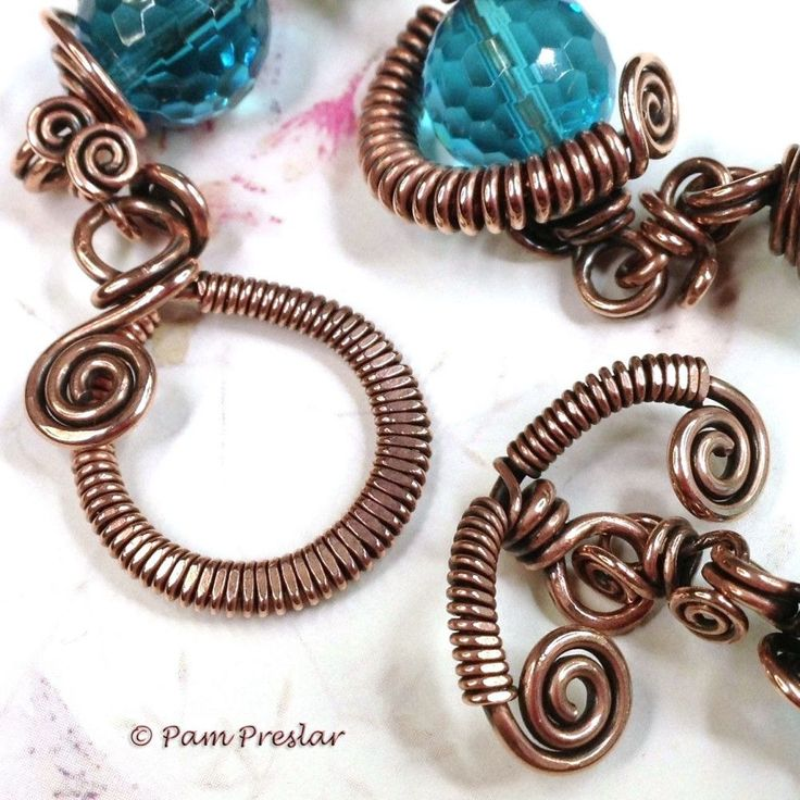 596 best WIRE WRAP-tutorials images on Pinterest   Wire jewelry ...