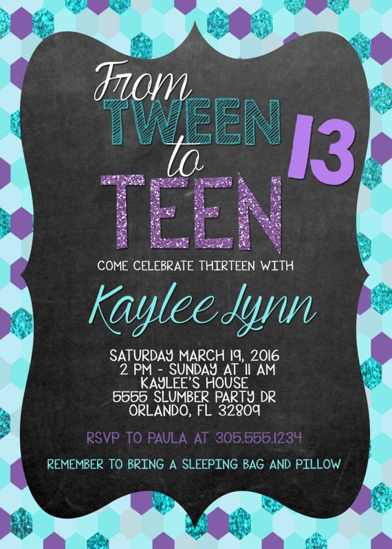 the 25+ best teen birthday invitations ideas on pinterest, Birthday invitations