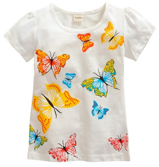 Various designs Rabbit gumball butterflies fox kittens crab giraffe monkey kids toddler youth top tee t-shirt cute