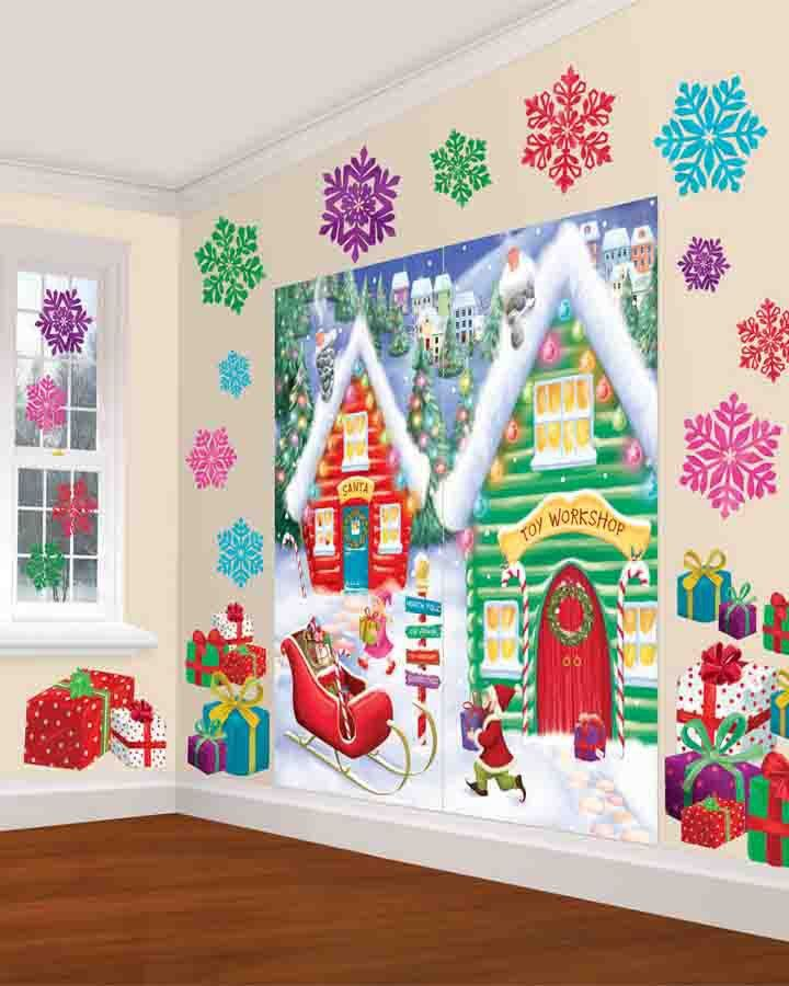 Shop Decorations For Christmas: 26 Best Santas Workshop Images On Pinterest