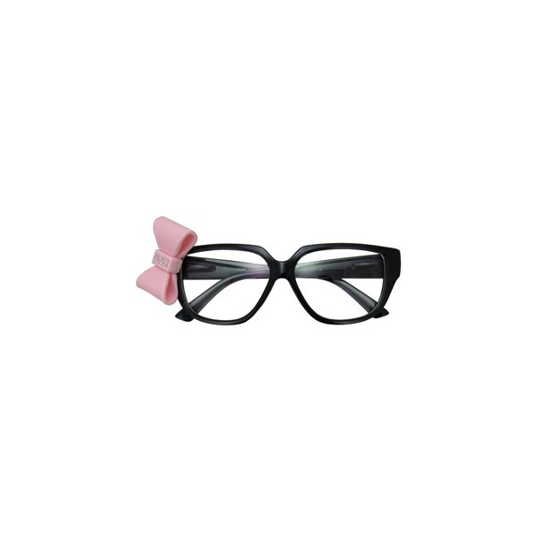 Black and Pink Karenina Sunglasses ($12) ❤ liked on Polyvore