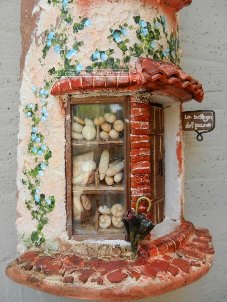 Panificio particolare - Tegole decorate ...