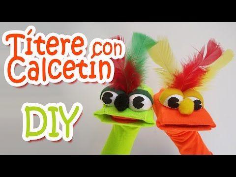 - Sock Puppet Manualidades para todos - YouTube