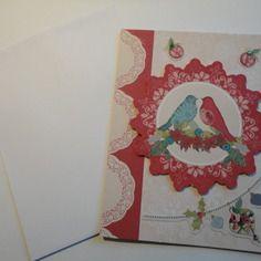 Carte de voeux avec enveloppe