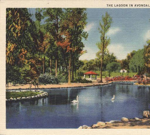 "Avondale Birmingham Al: ""The Lagoon In Avondale Park, Birmingham, Ala."" :: Alabama"
