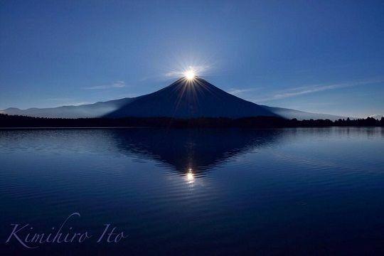 「鑽石富士山」