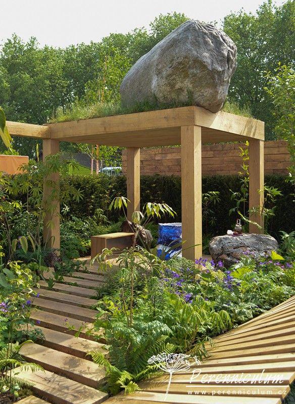 Kategorie Fresh Garden, The Garden of Potential, zahradní architekt Propagating Dan ve své zahradě zkombinoval krajinu Islandu buddhistický smysl jednoty.