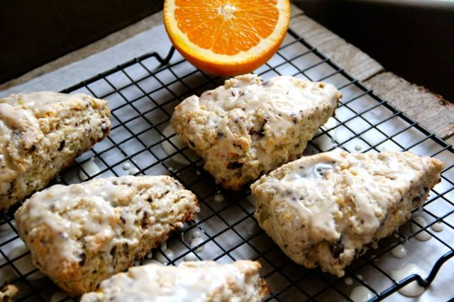 Dark Chocolate Orange Scones - Alaska from ScratchAlaska from Scratch