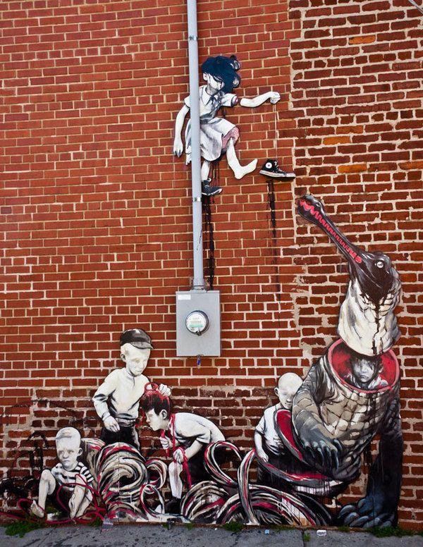Artist Taylor White , #art #streetart