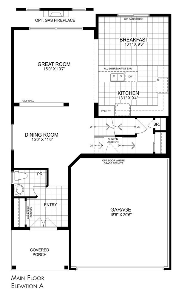 Edgebrook model summerlea houses in binbrook ontario by House floor plans ontario