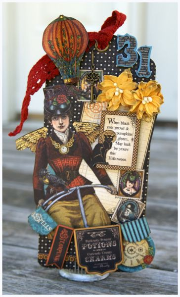 Steampunk Spells Tag by Stacy Rodriguez - love it! #graphic45 #tags