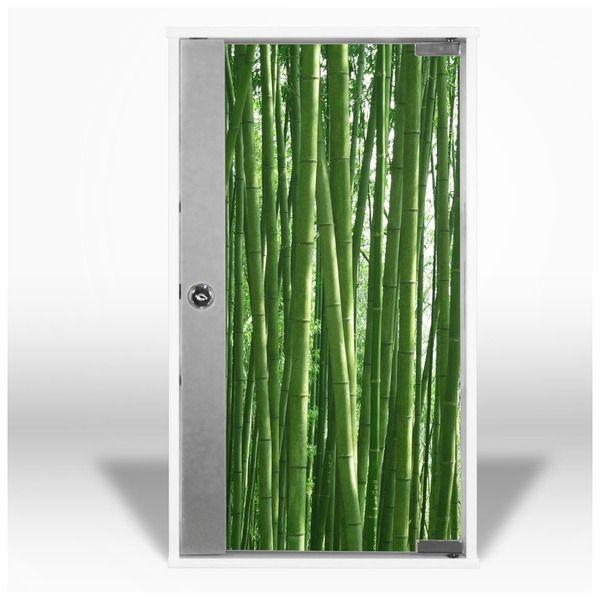 Erste Hilfe Schrank Bambus von banjado via dawanda.com