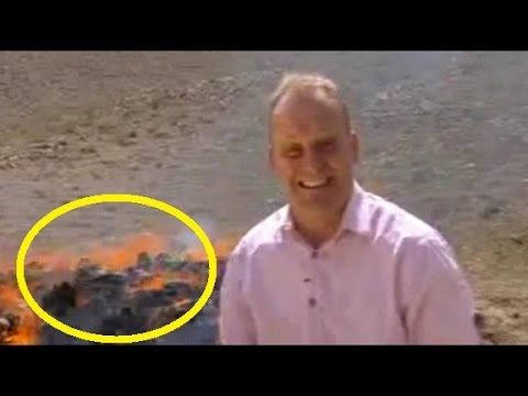 WATCH: BBC News Reporter Gets High On Burning Drugs | Journalist Inhales Burning Drugs While Filming - YouTube