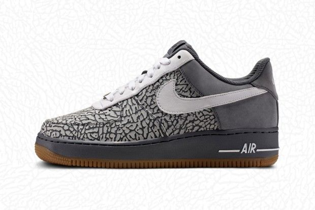 not an AF1 fanboy but the elephant print option in NikeID is dope. leopard print anytime soon?