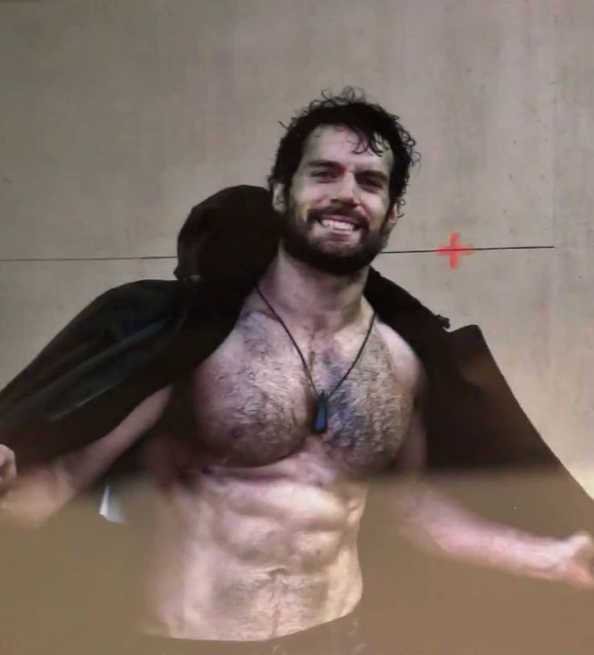 Yup.  The League of British Artists: Henry Cavill Gears Up To Reprise Role In 'Batman Vs. Superman'