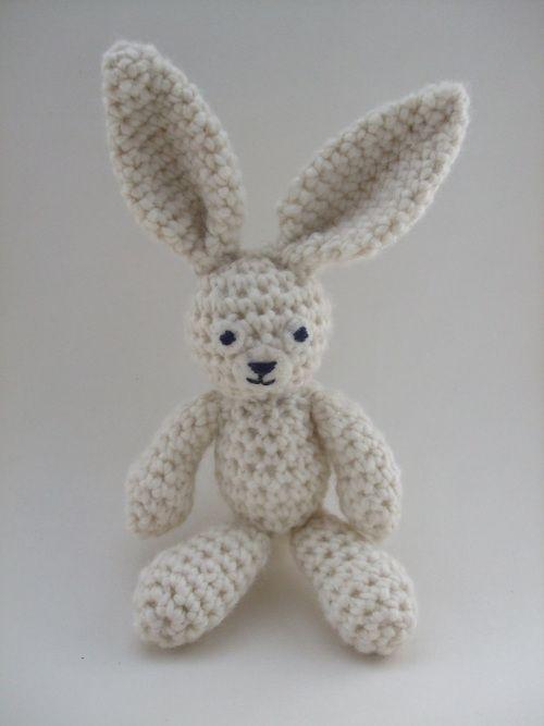 Crochet Fluffy Bunny Amigurumi ~ Free Pattern