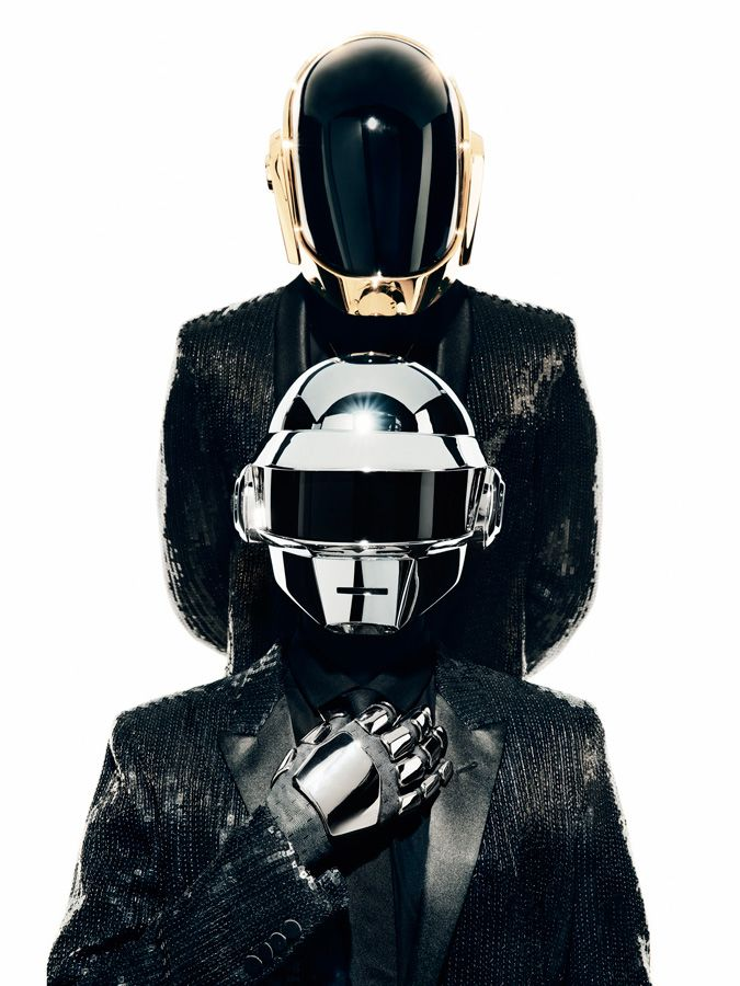 The only robots that doesnt need RAM to save our world with electronic music. Daft Punk is not only Random Access Memories.