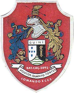 Companhia de Comando e Serviços do Batalhão de Caçadores 2892 Guiné 1969/1971