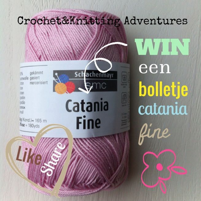 You are invited to enter our giveaway here www.facebook.com/CrochetKnittingAdventures Like our page and win a skein of yarn (color can be different from the picture)