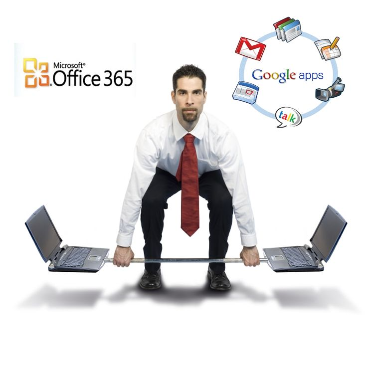 10 comparisons between Google Apps and Office 365